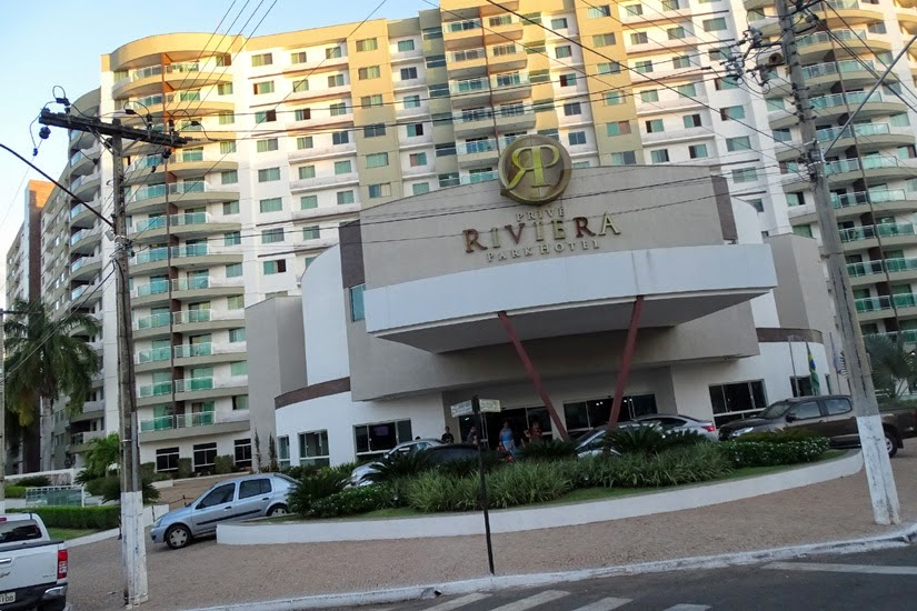 Hotel Privê Riviera Park Hotel - Caldas Novas - GO
