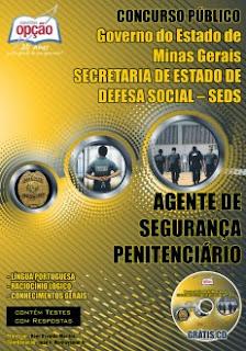 Concurso SEDS- MG - Secretaria de Estado de Defesa Social de Minas Gerais