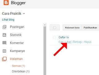 cek daftar isi blog berdasarkan label