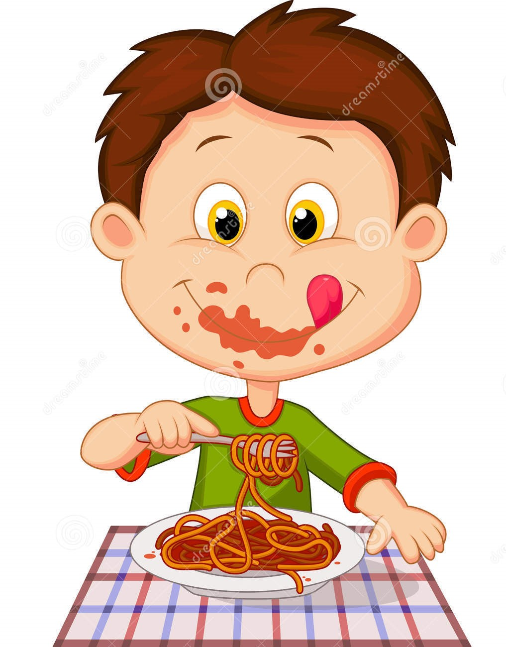 russell bakers essay the art of eating spaghetti