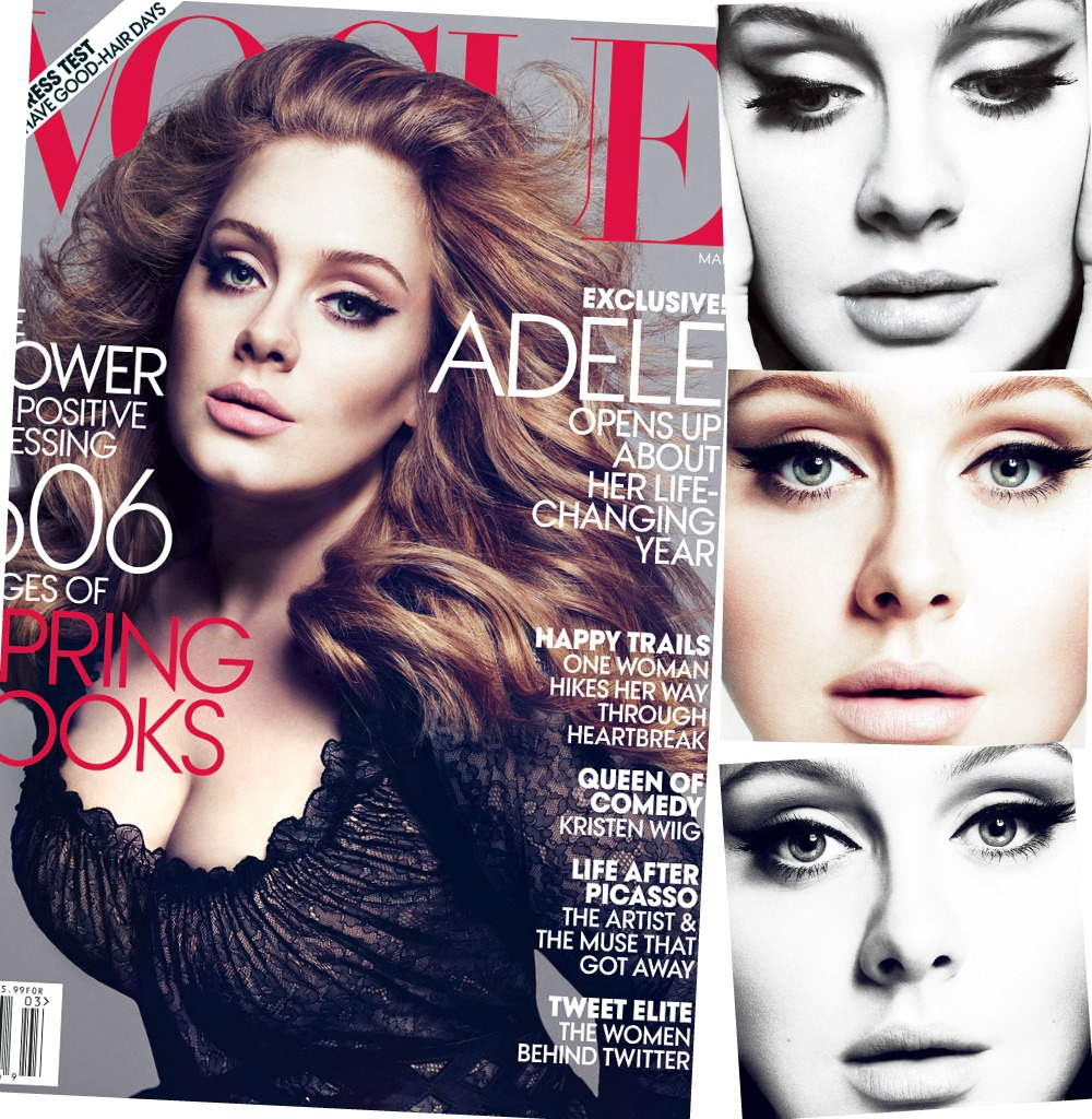 05eb0fe4f851 Glamour By Fatima  Sexy Adele  US Vogue March 2012