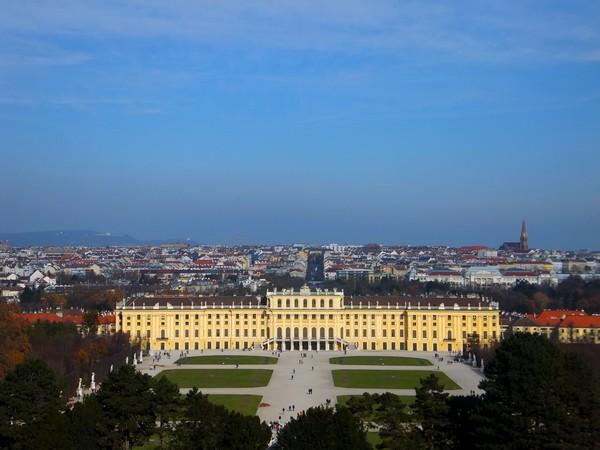 Vienne Vienna Wien château schloss schönbrunn