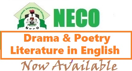 NECO Prose Question & Answer 2017 | Literature in English (Drama & Poetry Expo)