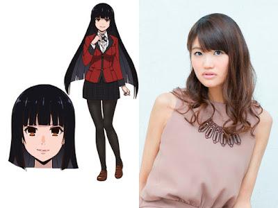 Saori Hayami como Yumeko Jabami