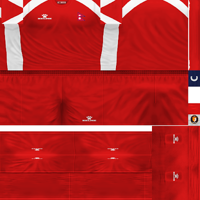 PES 6 Kits Nepal National Team Season 2018/2019 by WindowOp