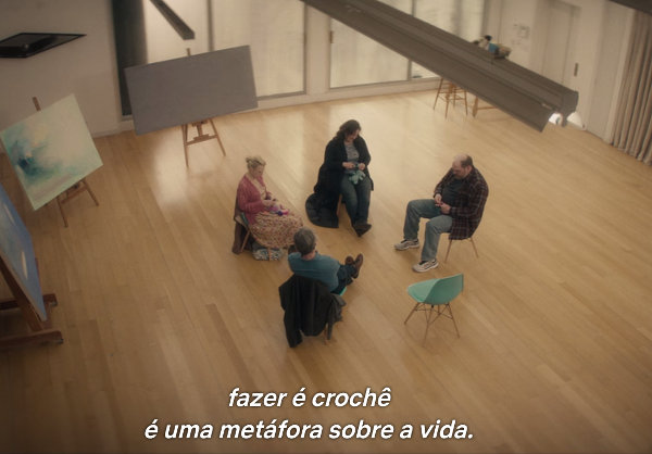 Crochê Terapia Filme Irreplaceable You Netflix