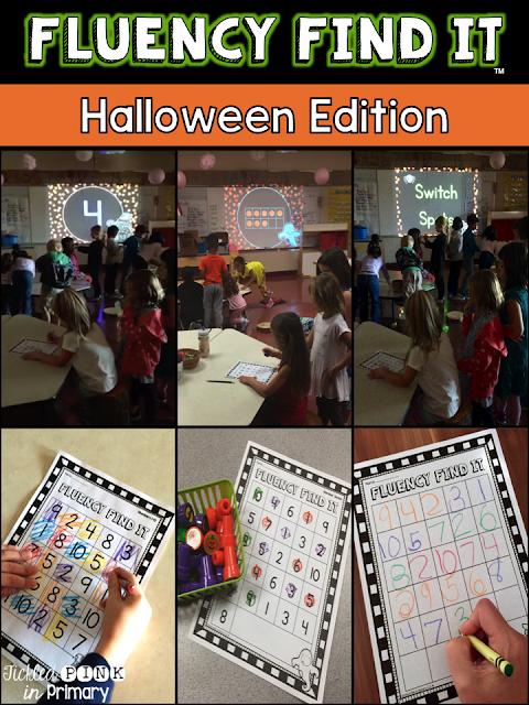 Halloween Fluency Find It