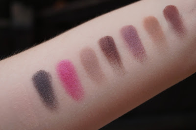 Too Faced Chocolate Bon Bons Eye Shadow Palette Swatches