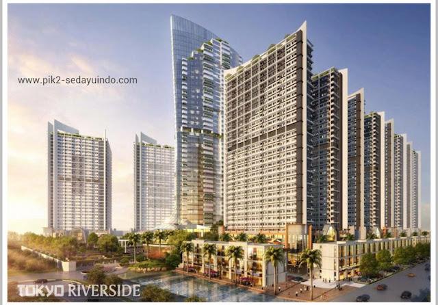 Tokyo Riverside Apartment PIK 2 Jakarta