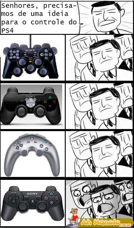 controle do PS4