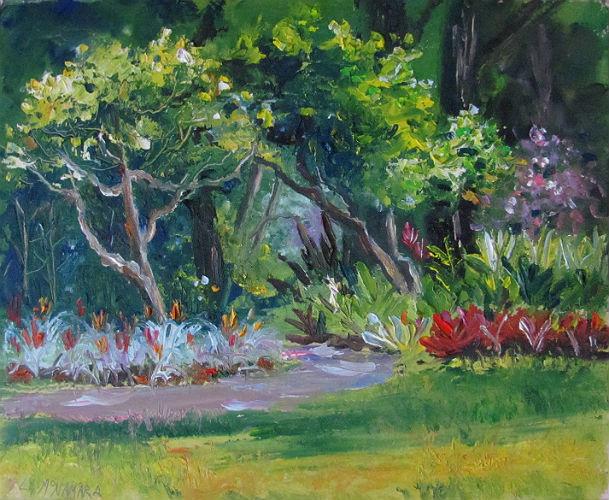Heathcote Botanical Gardens: Lori's Stormy Art And Daily Paintings: May 2011