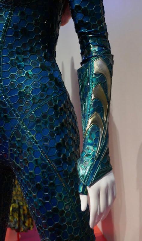 Mera glove costume detail Aquaman