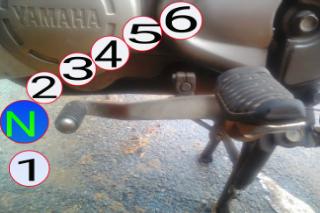 Gambar pertukaran gear Yamaha 125z