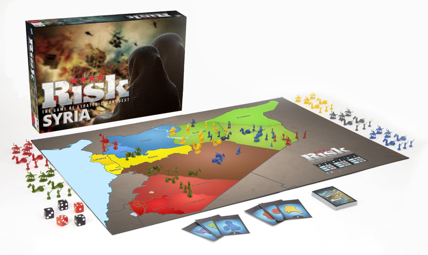 The Postillon Syria Edition Of Classic Board Game Risk Now Available