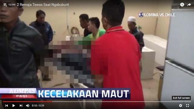 VIDEO : 2 Remaja Tewas, Saat Ngabuburit