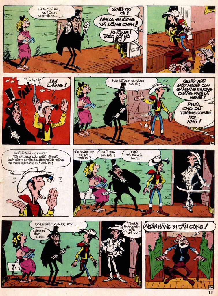 Lucky Luke tap 18 - ki si ao trang trang 9