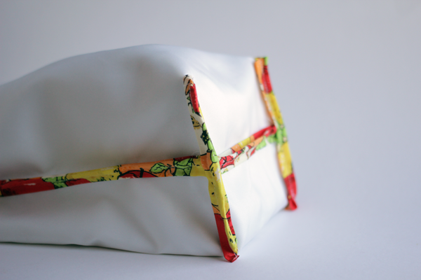 Basic lunch sack sewing pattern and instructions