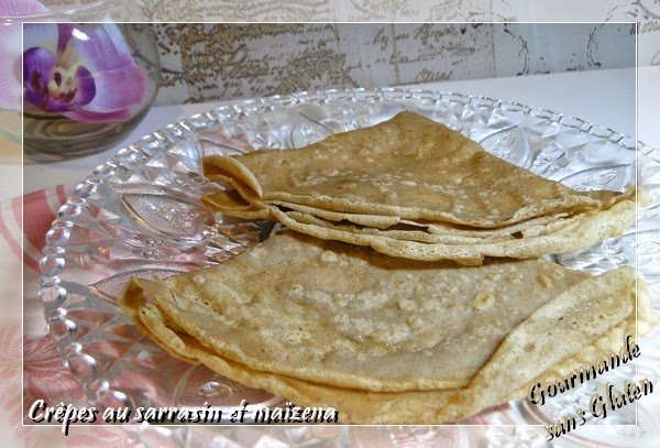 Gourmande Sans Gluten Crepes Au Sarrasin Et Maizena