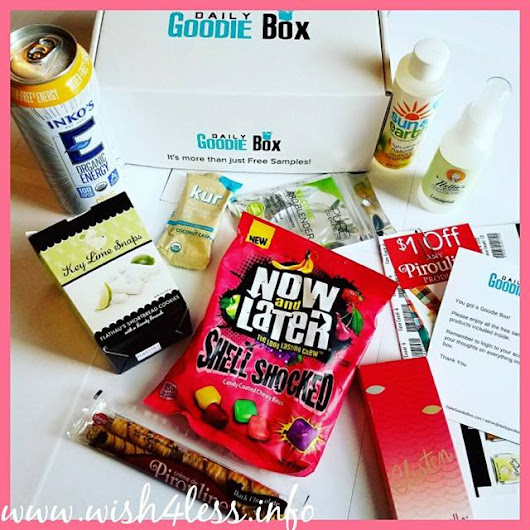 Awesome Daily Goodie Box Review