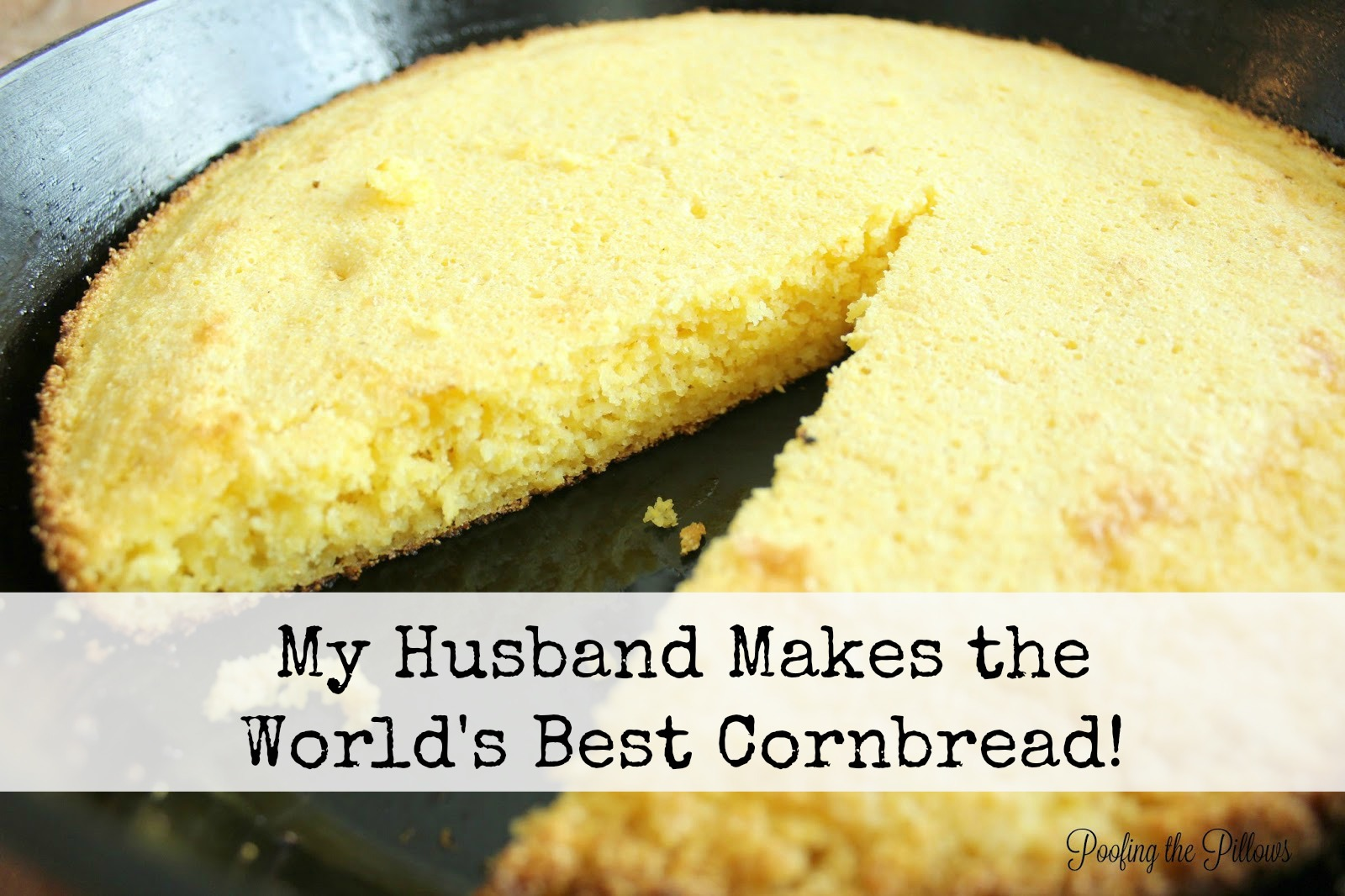 southern style cornbread cooked in a cast iron skillet, how to make cornbread in a cast iron skillet, the secret ingredient is bacon grease!