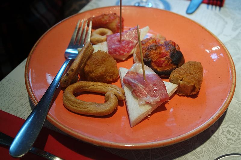 Cicchetti Italian Snacks at Salvi's