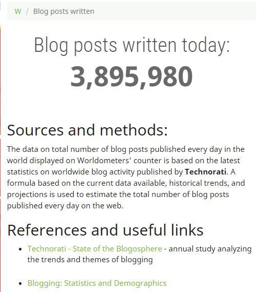 perhatikan hal berikut saat membuat blog
