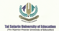 Courses Offered At Tai Solarin University Of Education For Direct Entry, UTME And Cut Off Marks