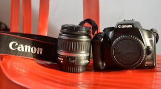 kamera bekas, kamera dslr, kamera canon, canon eos 1000d