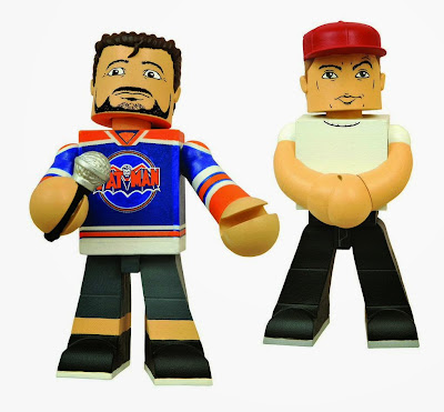 Kevin Smith Podcast Pals Vinyl Figures 2 Pack by Diamond Select Toys - Kevin Smith & Jason Mewes