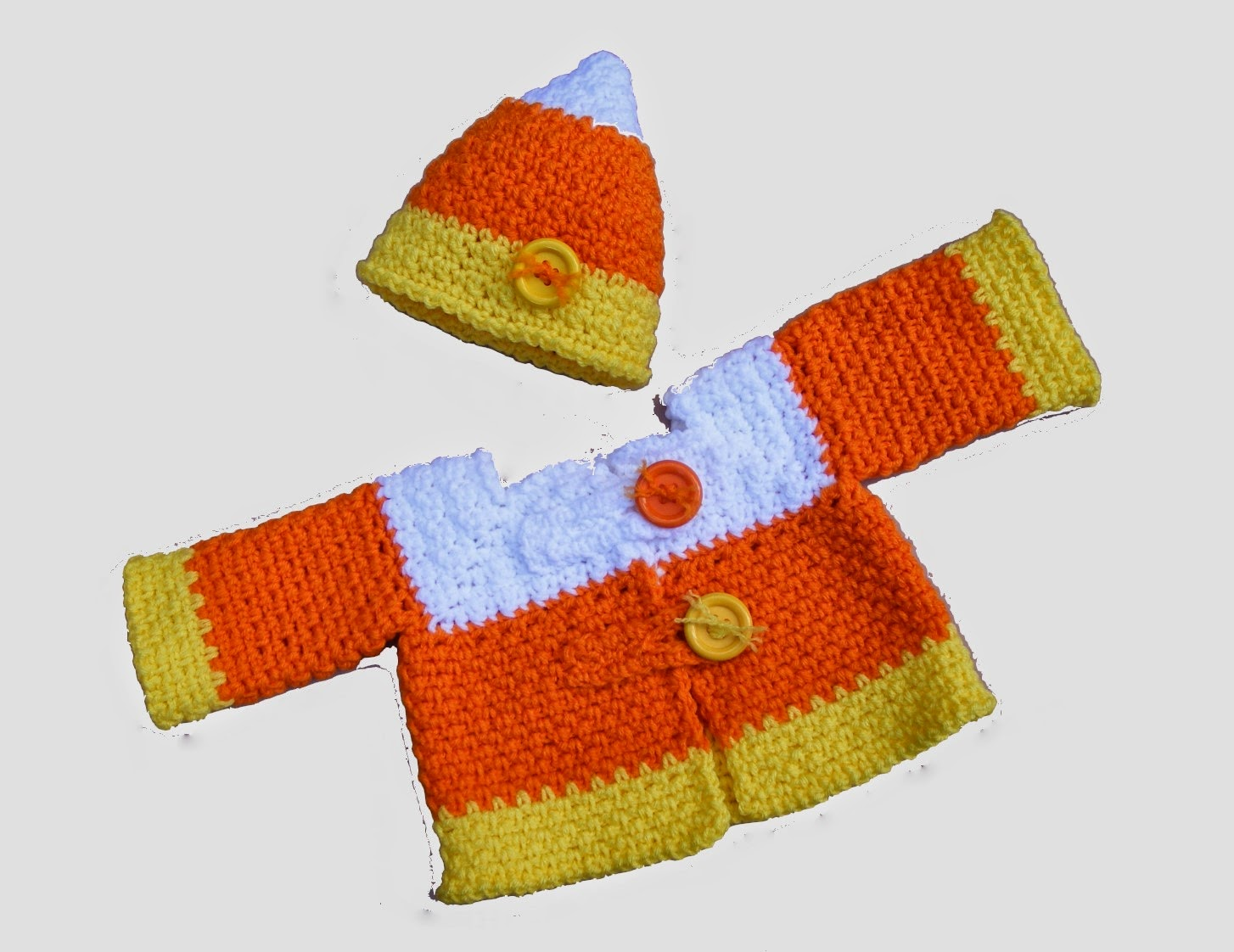 Krissys Wonders Candy Corn Crochet
