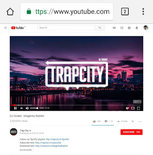 YouTube desktop site