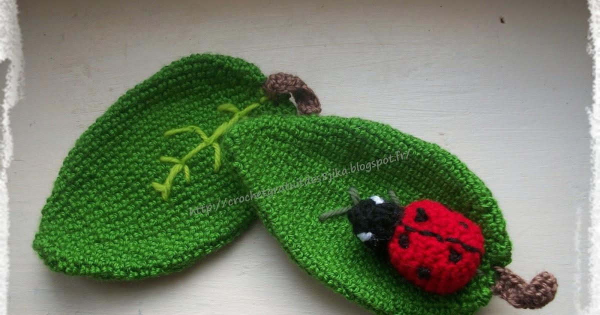 le crochet des8jika jolies coccinelles au crochet. Black Bedroom Furniture Sets. Home Design Ideas