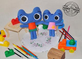 мягкие игрушки из флиса своими руками