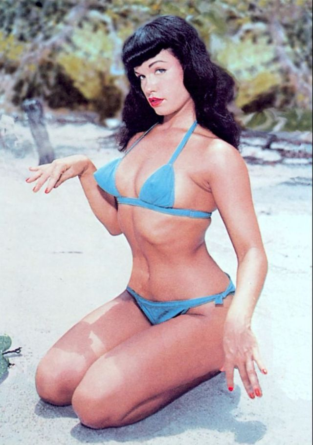 bettie page color # 81