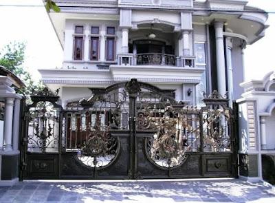 Contoh Model Pagar Klasik Rumah Modern