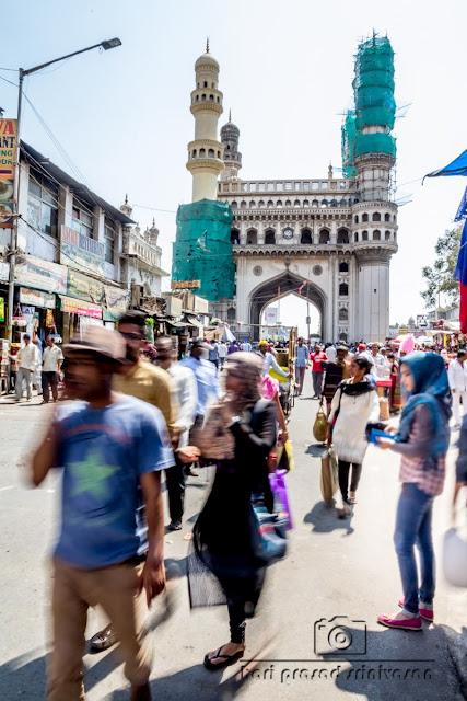 Charminar, Hyderabad street view