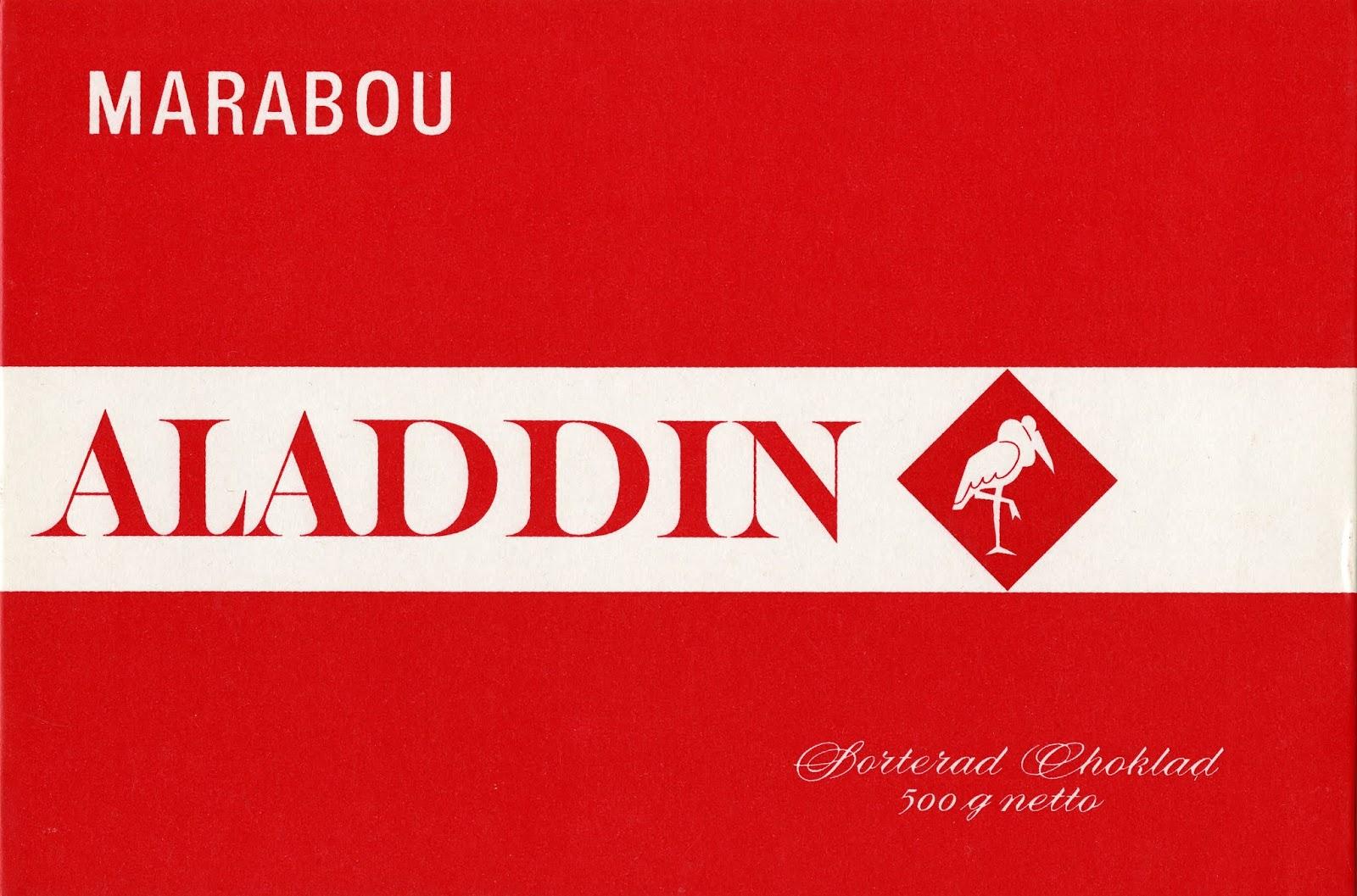 aladdin choklad 2016
