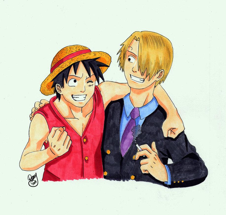 American Top Cartoons: One Piece Luffy