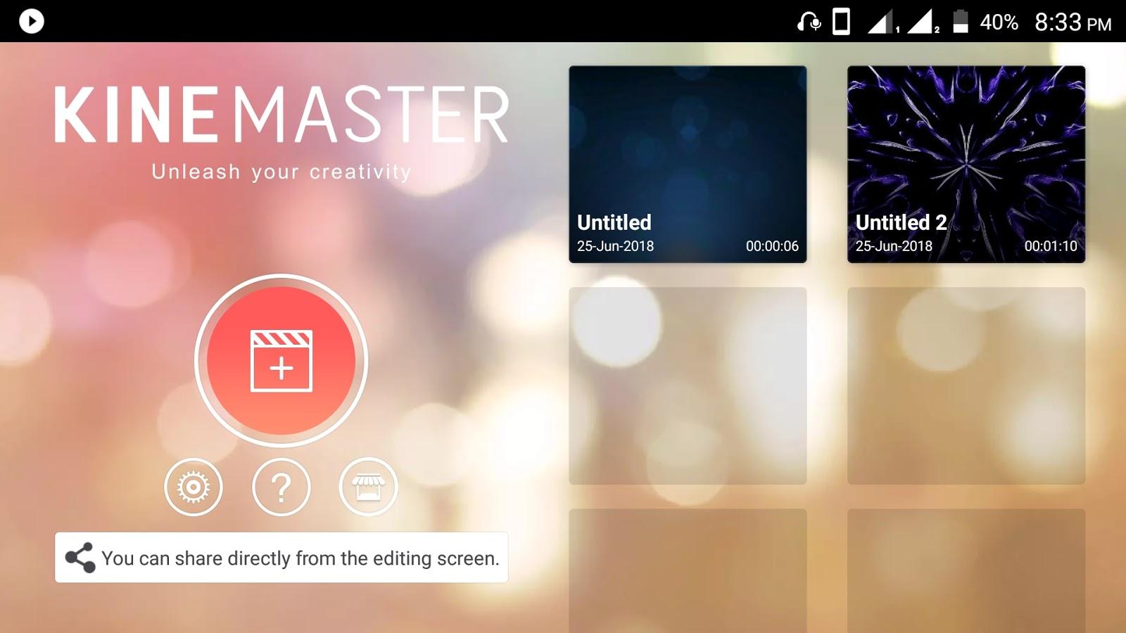 DOWNLOAD - Kine Master Pro Mod Apk  v5 [ Unlocked Version