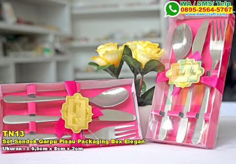 Set Sendok Garpu Pisau Packaging Box Elegan
