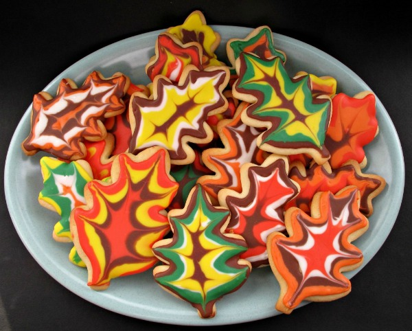 Decorated Thanksgiving Sugar Cookies from The Monday Box