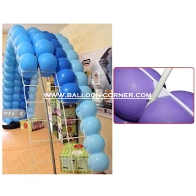 Cara Membuat Balon Gapura Ulang Tahun Dengan Grid Balon