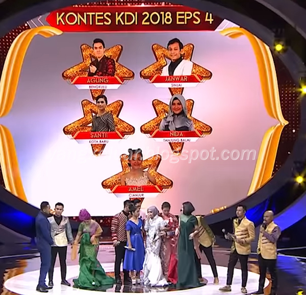 Peserta Yang Terjemput Kontes KDI Tadi Malam 8 Agustus 2018