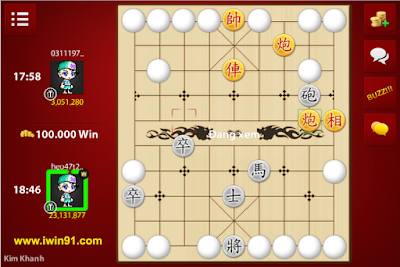 huong dan choi co up game iwin-