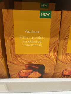 waitrose Milk Chocolate Smothered Honeycomb