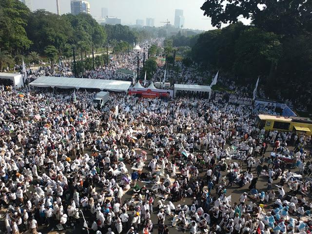 Tepis Tuduhan Khilafah, Ust Bachtiar Nasir: Prabowo-Sandi Siap Jaga NKRI dan Ulama