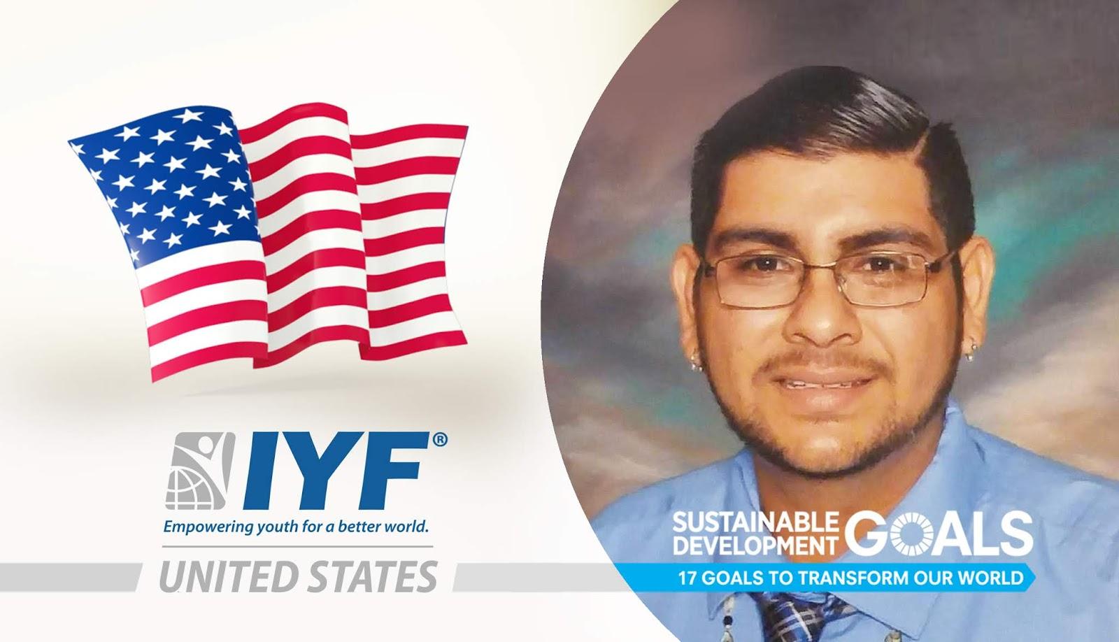 Ramon Montano Marquez, IYF Representative in United States