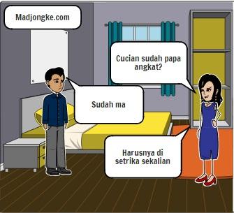 istri tidak puas dengan suami komik
