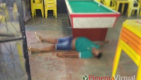 Homem é morto com tiro na cabeça em bar de Parecis