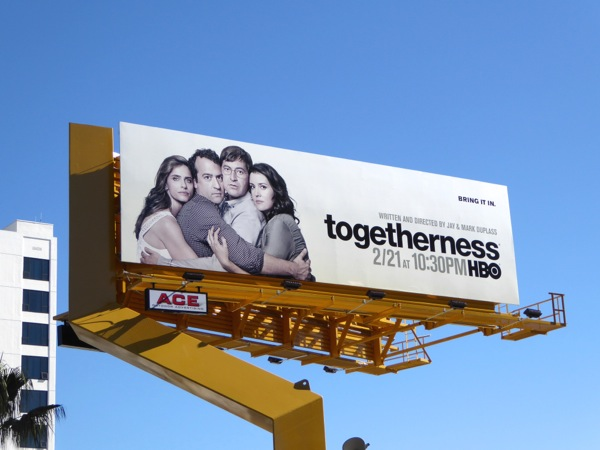 Togetherness season 2 HBO billboard